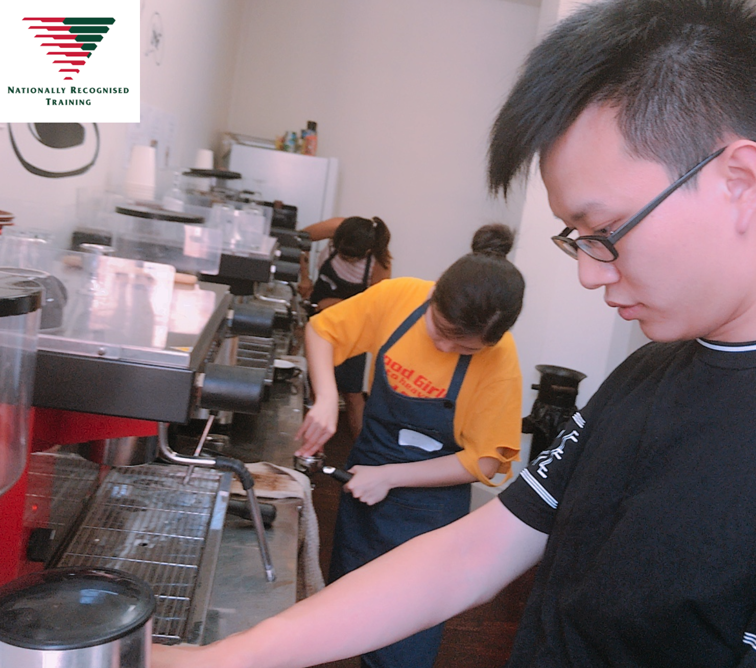 Nationally Recognised Barista Course (Accredited)